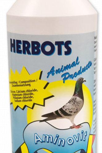 Herbots Aminovit 1 litro (aminoácidos) para palomas mensajeras