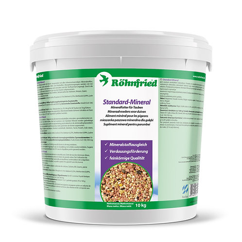 Rohnfried Rasse Mineral 5kg, (mezcla de minerales enriquecidos).