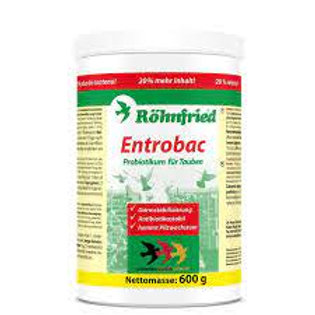 Rohnfried Entrobac, 600 gr (prebióticos + probióticos). Para Palomas y Pájaros