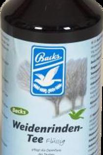 Backs Te de corteza de sauce líquido, 1 L, (preventivo 100% natural contra parás