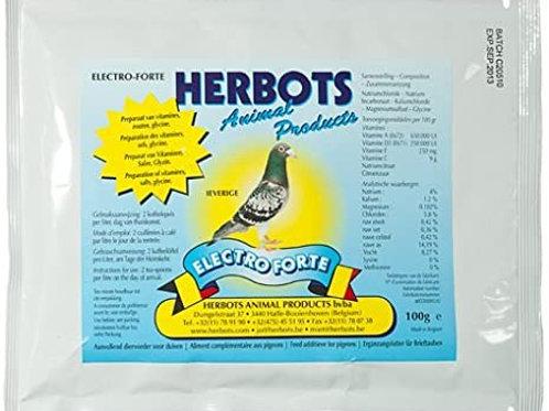 Herbots Electro Forte 100gr (electrolitos + dextrosa)