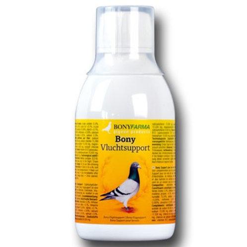BonyFarma Vluchtsupport 250 ml, (Minerales, vitaminas, electrolitos y carbohidra