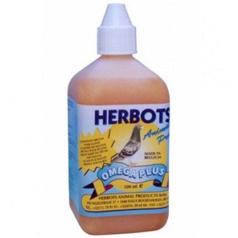 Herbots Omega Plus 500 ml (energético) para palomas