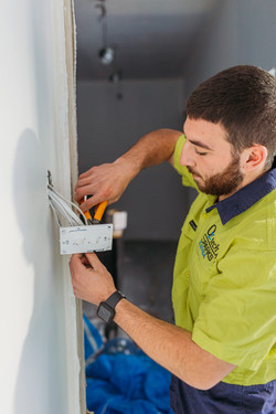 OzTech Sparks installing power point
