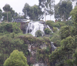 Second of Three Falls at Sipi