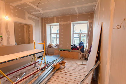 Material for repairs in an apartment is
