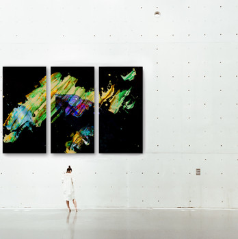Chameleon Triptych
