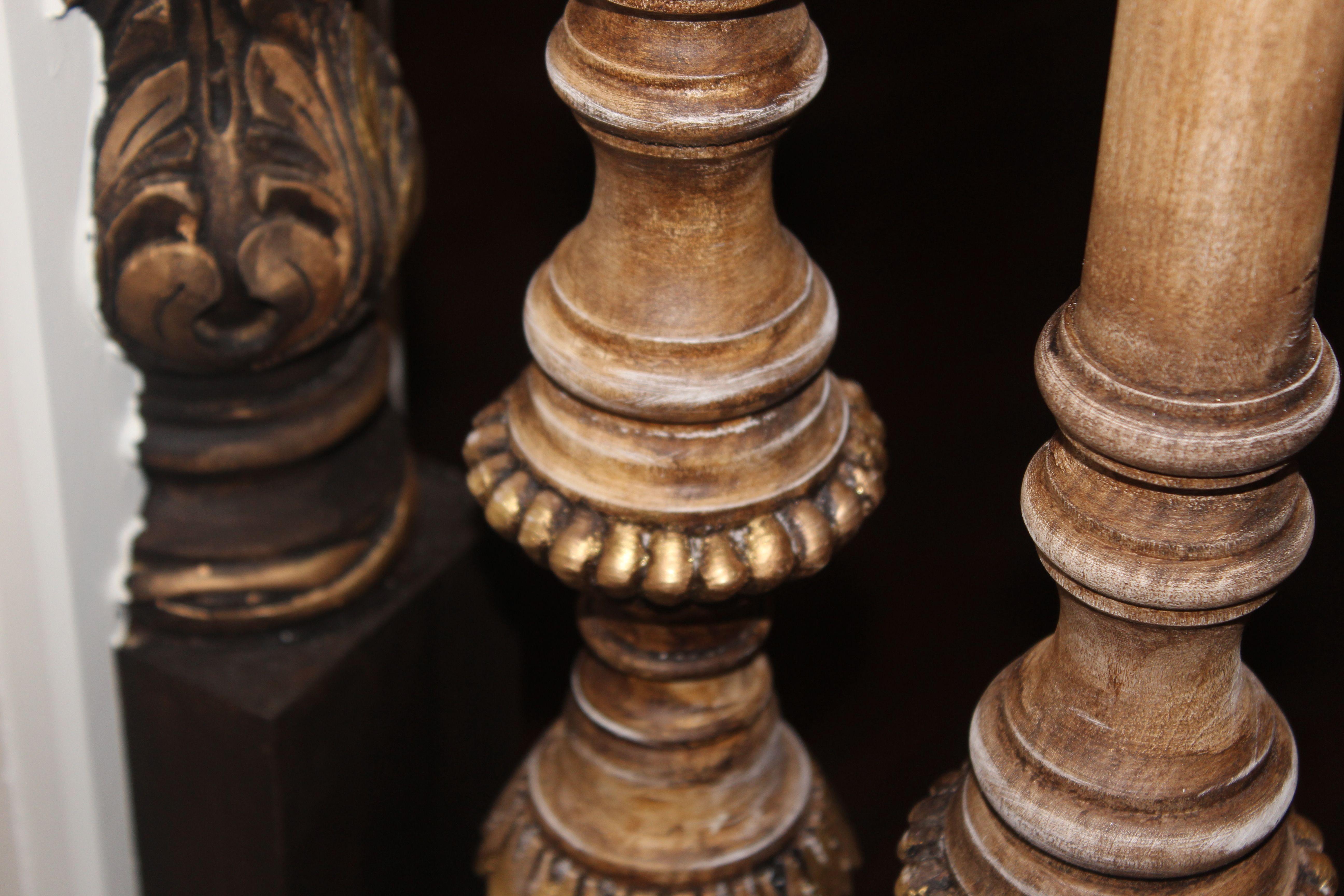 Custom wood spindles