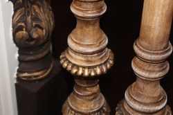 Custom wood spindles