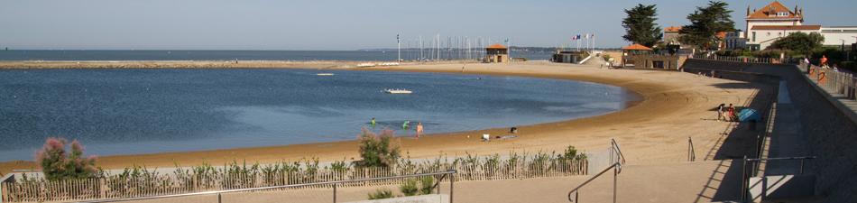 La plage de la Bernerie