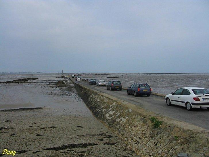 Passage du Gois à Noirmoutier