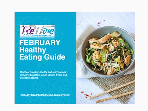 February Healthy Recipe Pack