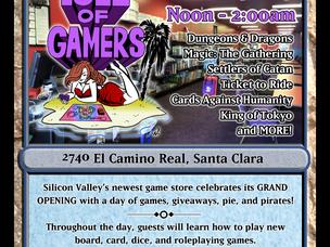 Isle of Gamers Newspaper Ad
