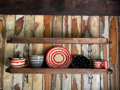 Kitchen Shelves Wicket Hut