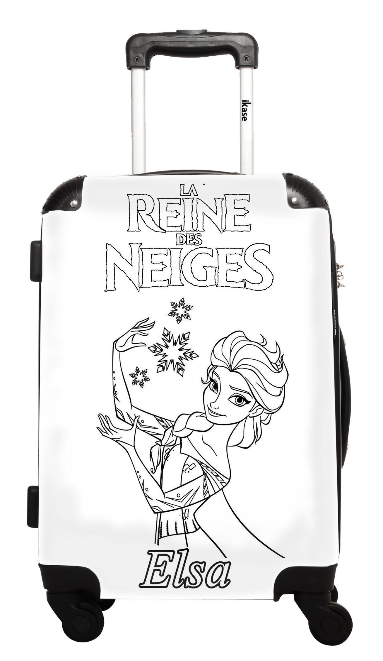 Valise Personnalisable Frozen La Reine Des Neiges Elsa A