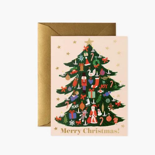 Rifle Paper co. — Carte Sapin de Noël
