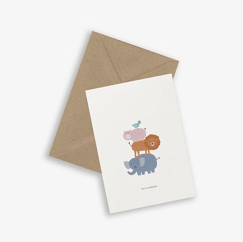 Kartotek — Carte Let's Celebrate