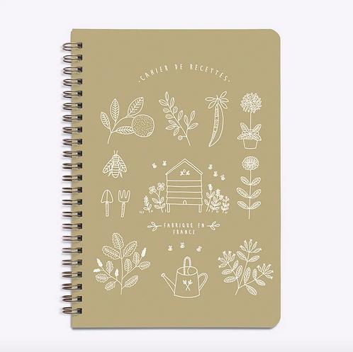 Les Éditions du Paon — Carnet de Recettes Mon Jardin kraft