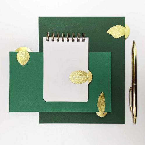Another Studio — Marque-pages Feuilles dorées