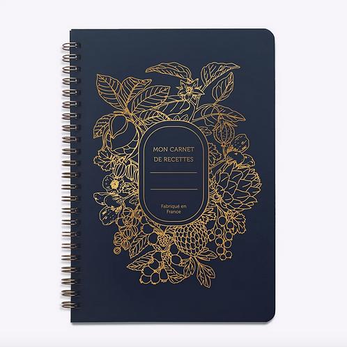 Les Éditions du Paon — Carnet de Recettes Abondance bleu