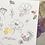 Thumbnail: Papillon Papillonnage — Carte merci