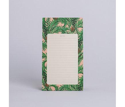 Season Paper — Bloc-notes Botanique