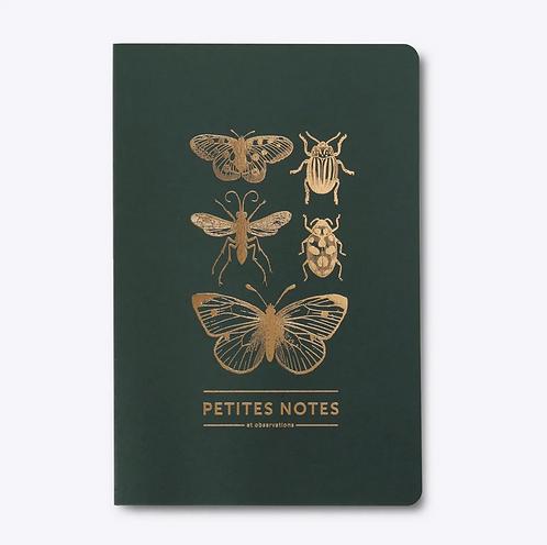 Les Éditions du Paon — Cahier dos carré Papillon