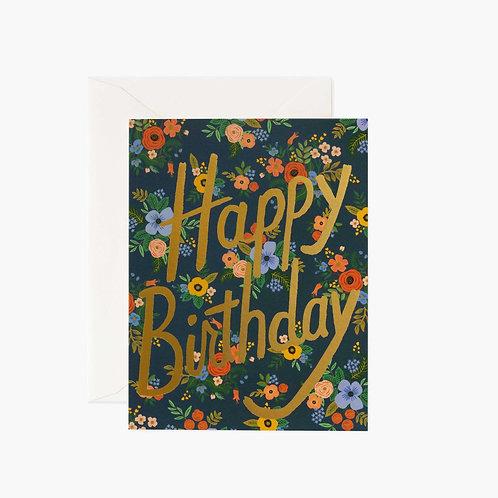Rifle Paper co. — Carte Garden Birthday