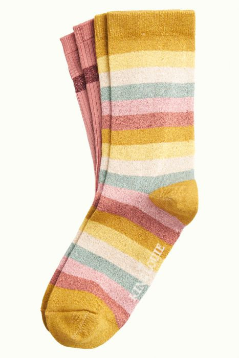King Louie — Chaussettes (2 paires) Campania Curry