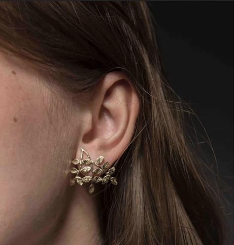 Stalactite — Boucles d'oreilles Automne