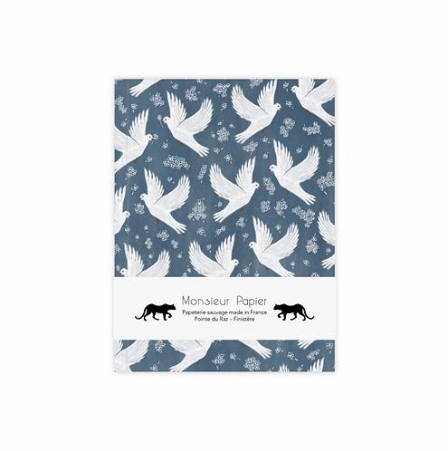 Monsieur Papier — Carnet Doves