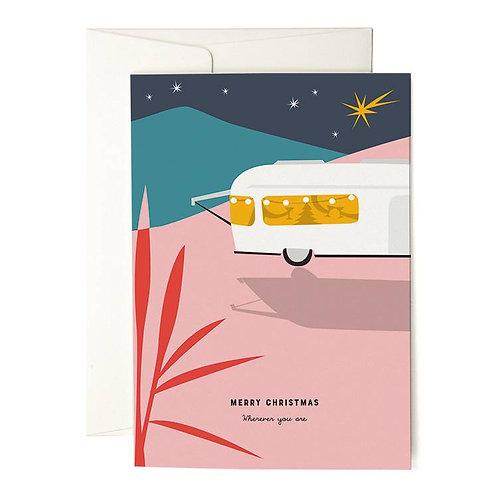 Pleased to meet — Carte Noël en caravane
