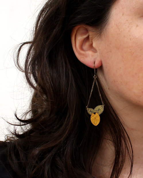 Amélie Blaise — Boucles d'oreilles Toucan 3