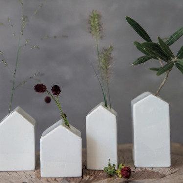 Räder — Set de 4 mini vases maisons