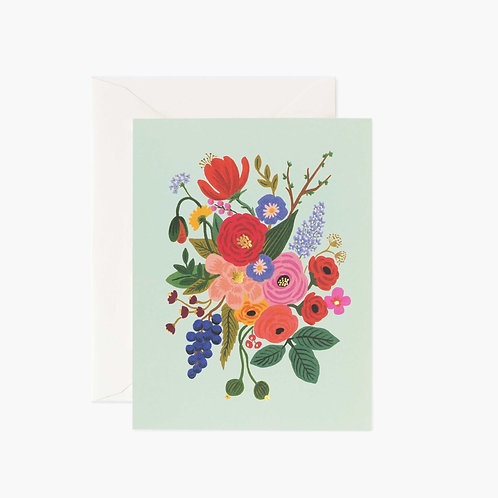 Rifle Paper co. — Carte Garden Party Mint