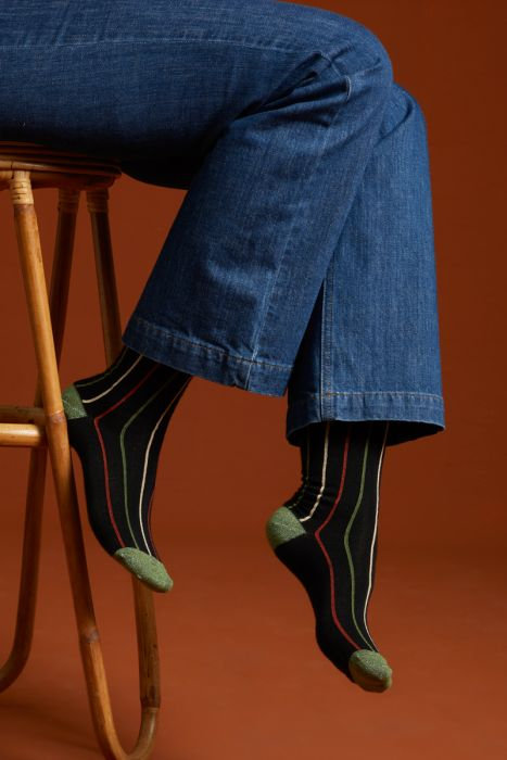 King Louie — Chaussettes (2 paires) Carrousel Olive Green