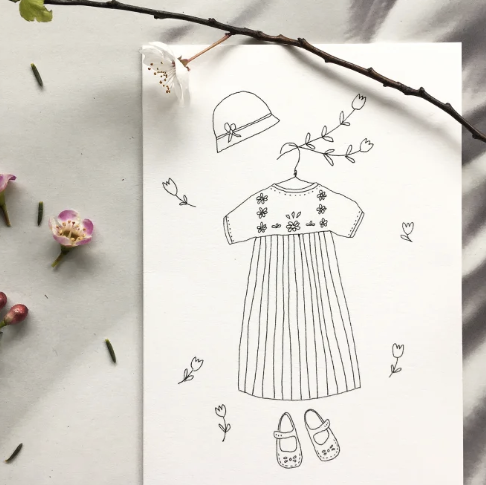 Papillon Papillonnage — Carte Robe ou Salopette ?