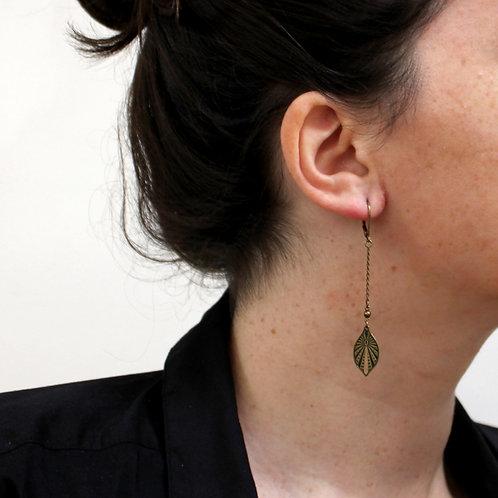 Amélie Blaise — Boucles d'oreilles Mycelium 6