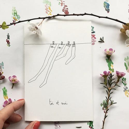 Papillon Papillonnage — Carte toi et moi