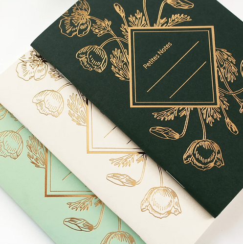 Les Éditions du Paon — Carnet de poche Poppy