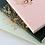 Thumbnail: Les Éditions du Paon — Cahier dos carré Happy day Rose
