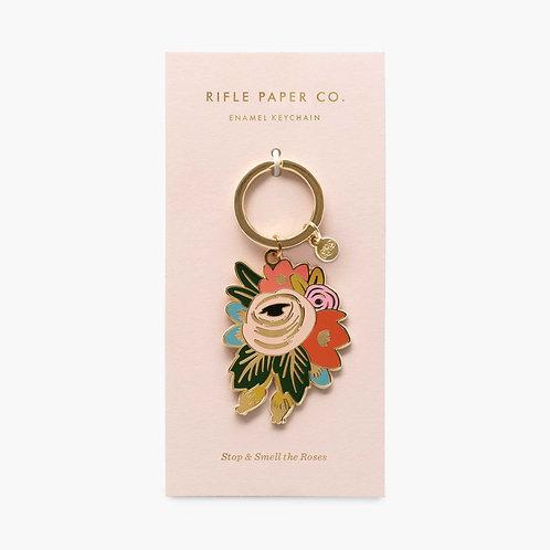 Rifle Paper co. — Porte-clés Fleurs