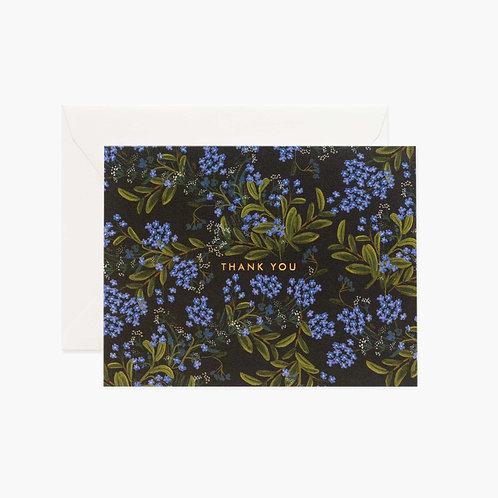 Rifle Paper co. — Carte Cornflower Thank You