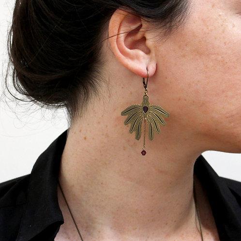 Amélie Blaise — Boucles d'oreilles l'Envolée 5