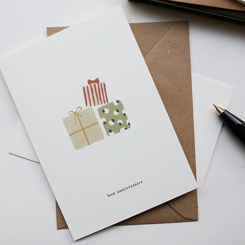 Kartotek — Carte Bon Anniversaire