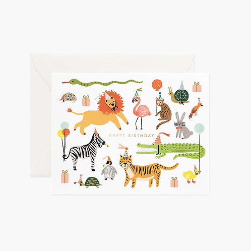 Rifle Paper co. — Carte Party Animals