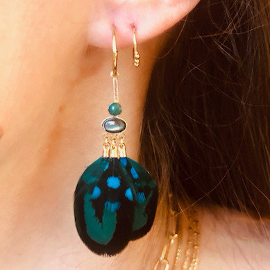 Stalactite — Boucles d'oreilles Mini Jungle