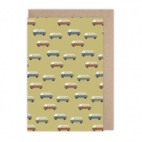 Monsieur Papier — Carte Van