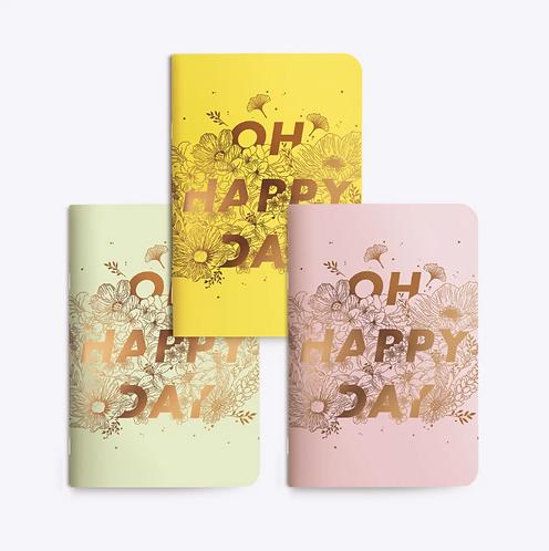 Les Éditions du Paon — Carnet de poche Happy Day