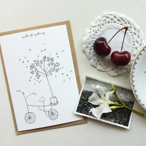 Papillon Papillonage — Carte Vélo